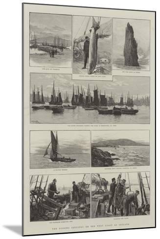 The Fishing Industry on the West Coast of Ireland-Joseph Nash-Mounted Giclee Print