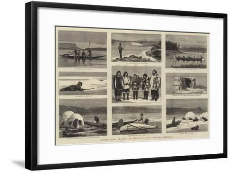Sport and Travel in Hudson's Bay, North America-Joseph Nash-Framed Art Print