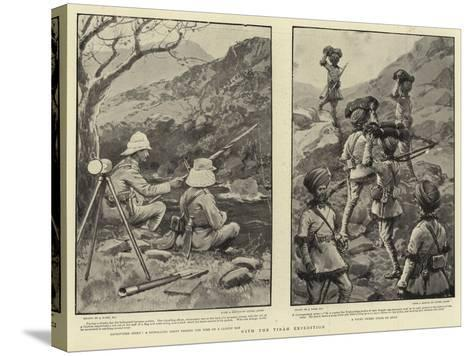 With the Tirah Expedition-Joseph Nash-Stretched Canvas Print