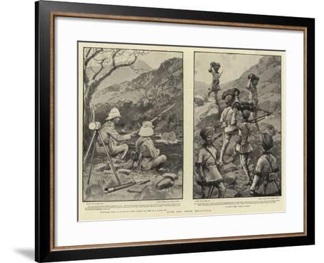 With the Tirah Expedition-Joseph Nash-Framed Art Print