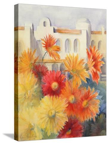 Gerberas-Karen Armitage-Stretched Canvas Print