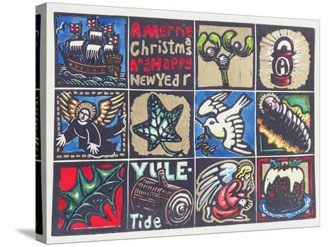 Christmas Card, 1999-Karen Cater-Stretched Canvas Print