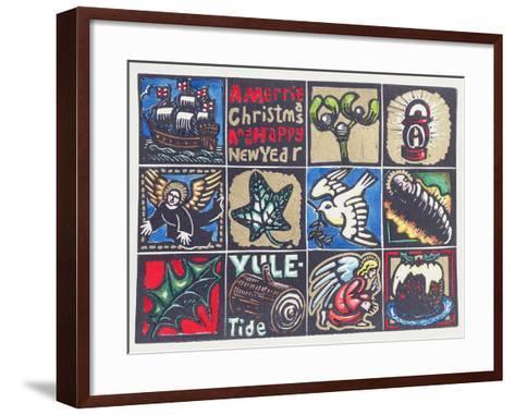 Christmas Card, 1999-Karen Cater-Framed Art Print