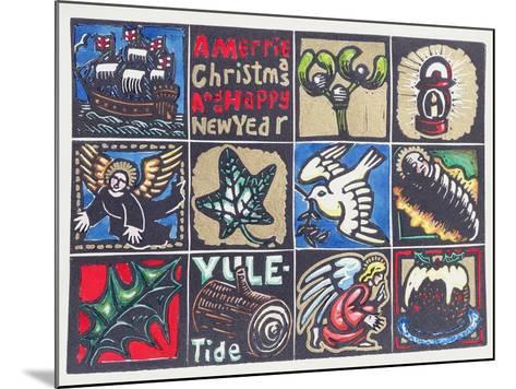 Christmas Card, 1999-Karen Cater-Mounted Giclee Print