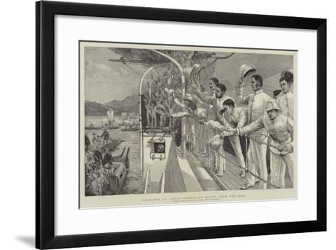 Good-Bye to Japan, Homeward Bound from the East-Joseph Nash-Framed Art Print
