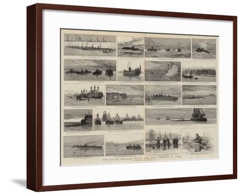 Ten Little Torpedo Boats and What Became of Them-Joseph Nash-Framed Art Print