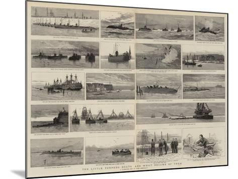 Ten Little Torpedo Boats and What Became of Them-Joseph Nash-Mounted Giclee Print