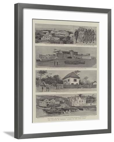 The Trouble in Ashanti, Scenes on the Gold Coast-Joseph Nash-Framed Art Print
