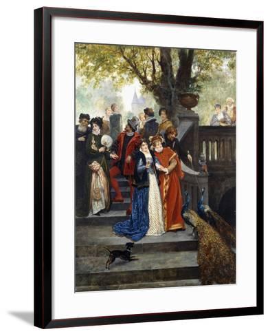 In the Park; Dans Le Parc-Jules Arsene Garnier-Framed Art Print