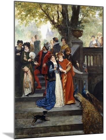 In the Park; Dans Le Parc-Jules Arsene Garnier-Mounted Giclee Print