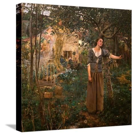 Joan of Arc, 1879-Jules Bastien-Lepage-Stretched Canvas Print