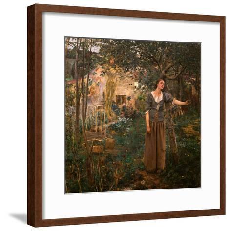 Joan of Arc, 1879-Jules Bastien-Lepage-Framed Art Print