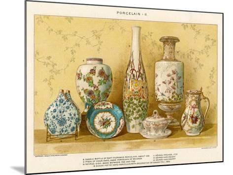European Porcelains by Julius Bien, C.1880-Julius Bien-Mounted Giclee Print
