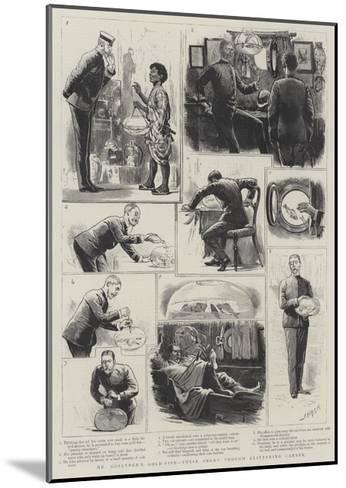 Mr Goslynge's Gold-Fish, their Short Through Glittering Career-Joseph Nash-Mounted Giclee Print