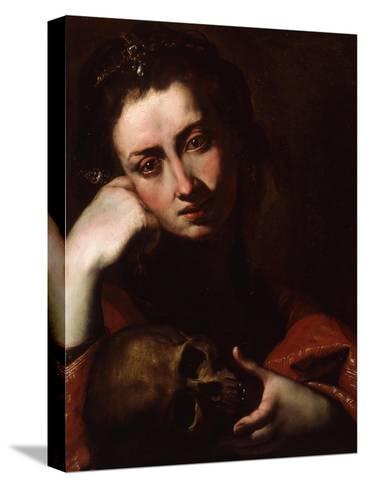 The Penitent Magdalene, C.1620-Jusepe de Ribera-Stretched Canvas Print