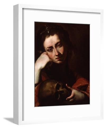 The Penitent Magdalene, C.1620-Jusepe de Ribera-Framed Art Print