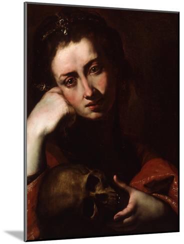 The Penitent Magdalene, C.1620-Jusepe de Ribera-Mounted Giclee Print