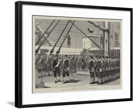 Waiting for Diplomacy-Joseph Nash-Framed Art Print