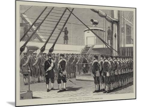 Waiting for Diplomacy-Joseph Nash-Mounted Giclee Print