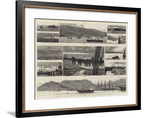 A Voyage from England to Natal in the Union Steam-Ship Arab-Joseph Nash-Framed Art Print