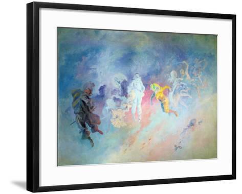 Pantomime, from the Salon Cheret-Jules Ch?ret-Framed Art Print