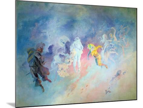 Pantomime, from the Salon Cheret-Jules Ch?ret-Mounted Giclee Print