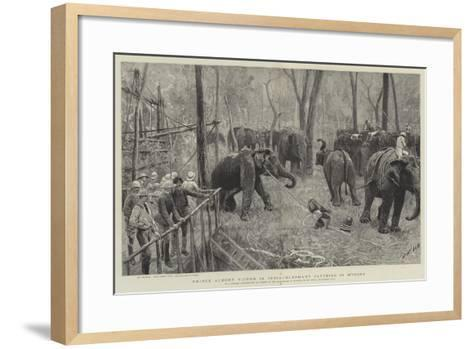 Prince Albert Victor in India-Joseph Nash-Framed Art Print