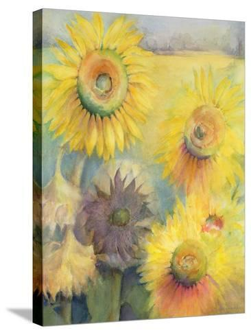 Sunflowers-Karen Armitage-Stretched Canvas Print