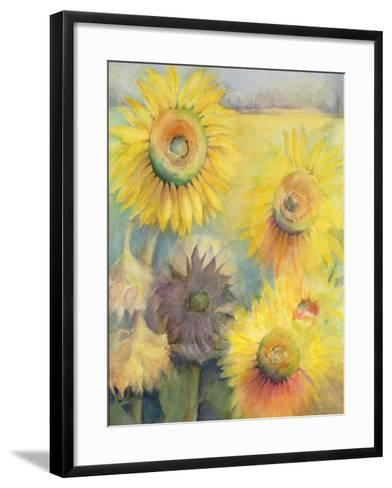 Sunflowers-Karen Armitage-Framed Art Print