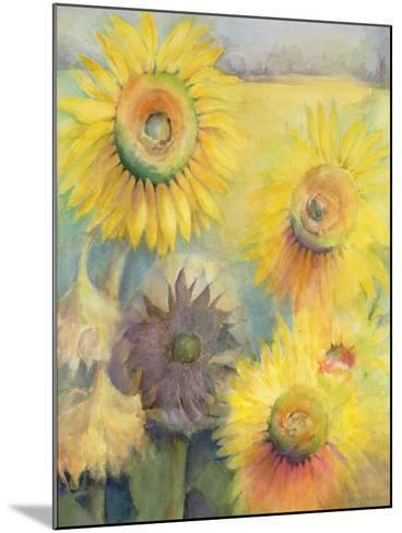 Sunflowers-Karen Armitage-Mounted Giclee Print