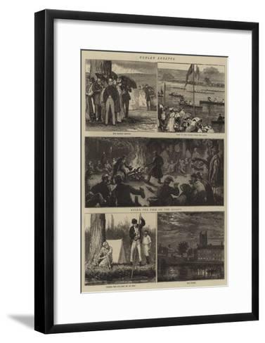 Henley Regatta-Joseph Nash-Framed Art Print