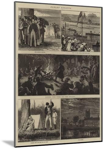 Henley Regatta-Joseph Nash-Mounted Giclee Print