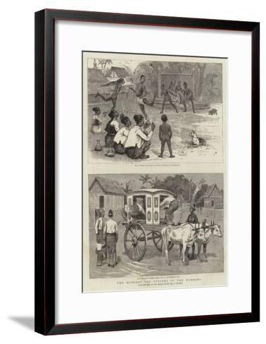 The Manners and Customs of the Burmans-Joseph Nash-Framed Art Print