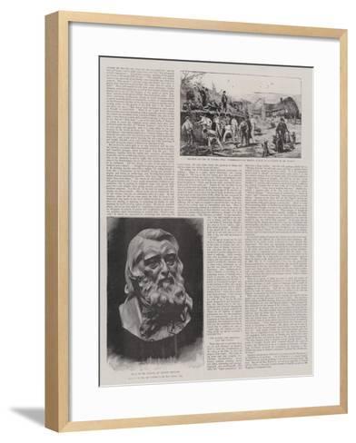 John Ruskin-Joseph Nash-Framed Art Print