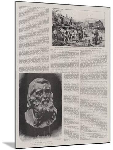 John Ruskin-Joseph Nash-Mounted Giclee Print