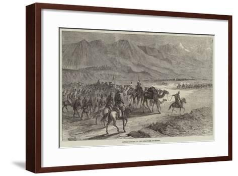 Cattle-Looting on the Frontier of Scinde-Joseph-Austin Benwell-Framed Art Print