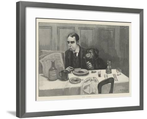 Old Chums-Julius Mandes Price-Framed Art Print