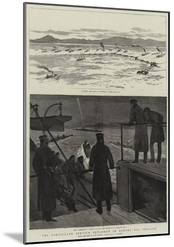 The Particular Service Squadron in Bantry Bay, Ireland-Joseph Nash-Mounted Giclee Print
