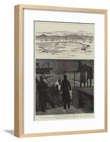 The Particular Service Squadron in Bantry Bay, Ireland-Joseph Nash-Framed Art Print