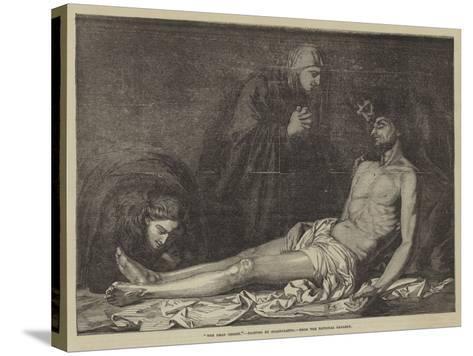 The Dead Christ-Jusepe de Ribera-Stretched Canvas Print