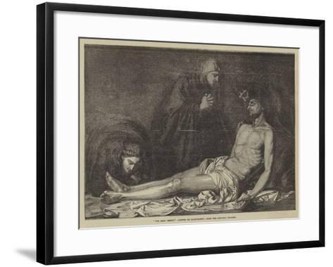 The Dead Christ-Jusepe de Ribera-Framed Art Print