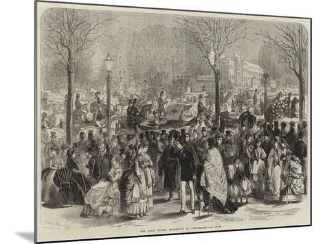 The Paris Easter Promenade at Longchamps-Jules Pelcoq-Mounted Giclee Print