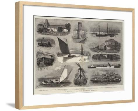 A Holiday on the Norfolk Broads-Joseph Nash-Framed Art Print