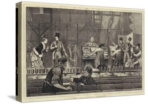 A New Opera, Undress Rehearsal-Joseph Nash-Stretched Canvas Print