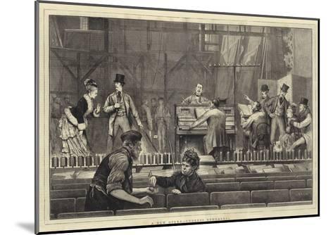 A New Opera, Undress Rehearsal-Joseph Nash-Mounted Giclee Print