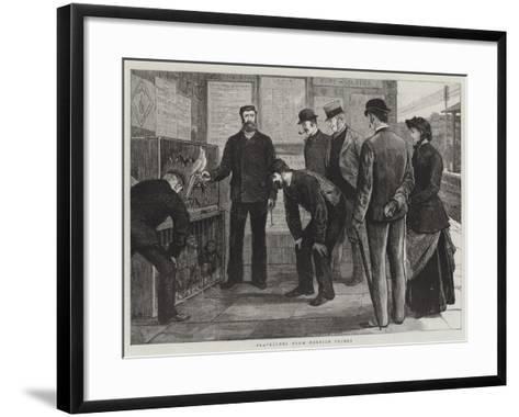 Travellers from Foreign Climes-Joseph Nash-Framed Art Print