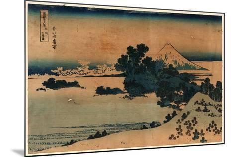 Soshu Shichiriga Hama-Katsushika Hokusai-Mounted Giclee Print