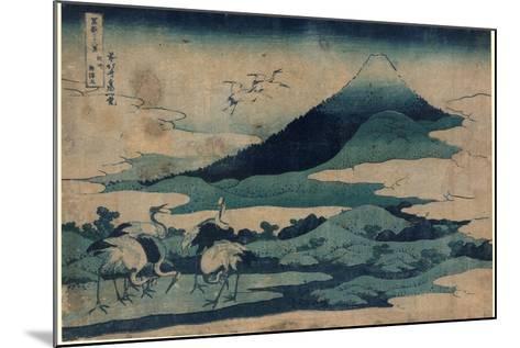 Soshu Umezawa Zai-Katsushika Hokusai-Mounted Giclee Print