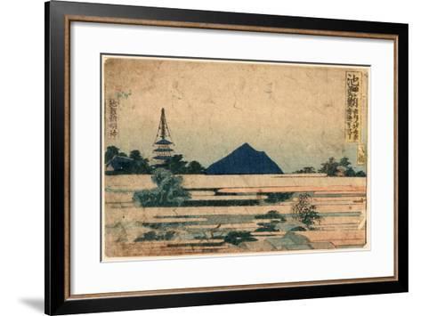Chiryu-Katsushika Hokusai-Framed Art Print
