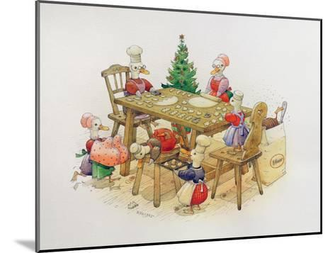 Duck's Christmas, 1999-Kestutis Kasparavicius-Mounted Giclee Print